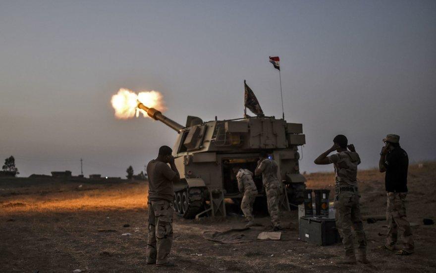 Irako kariuomenės daliniai