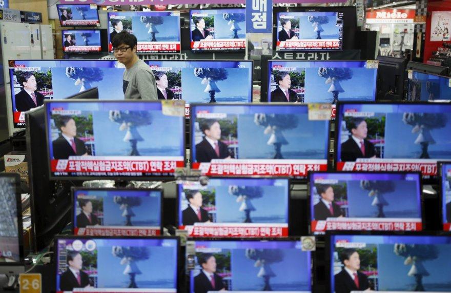 Šiaurės Korėja pareiškė pasigaminusi vandenilinę bombą