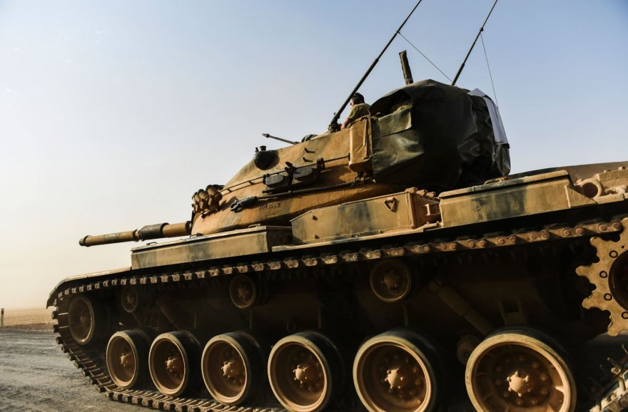 Turkijos tankas Sirijoje