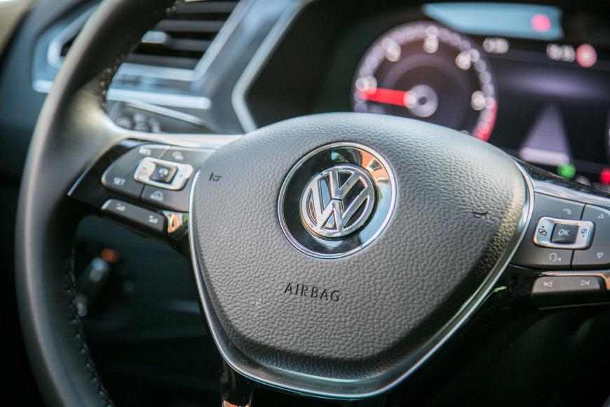 "Antros kartos ""Volkswagen Tiguan"""