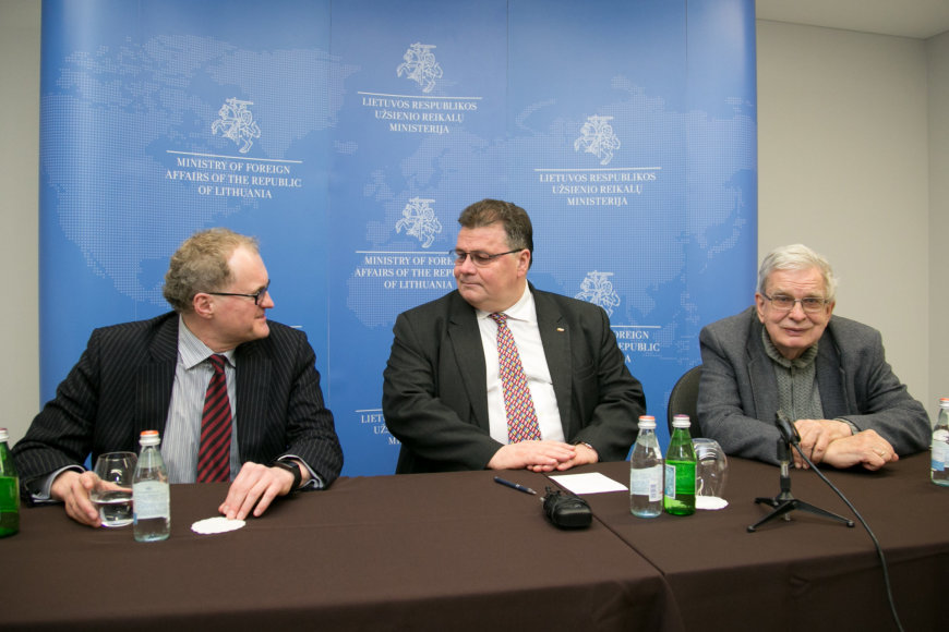 Leonidas Donskis, Linas Linkevičius, Tomas Venclova