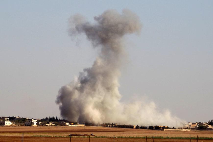 Rusija ir toliau bombarduoja Alepo miestą