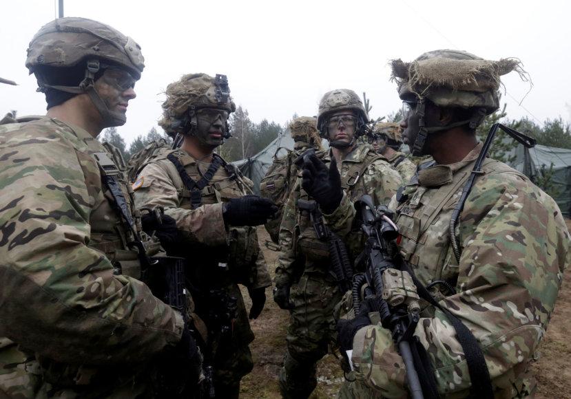 JAV kariai Latvijoje 2016 metų lapkritį