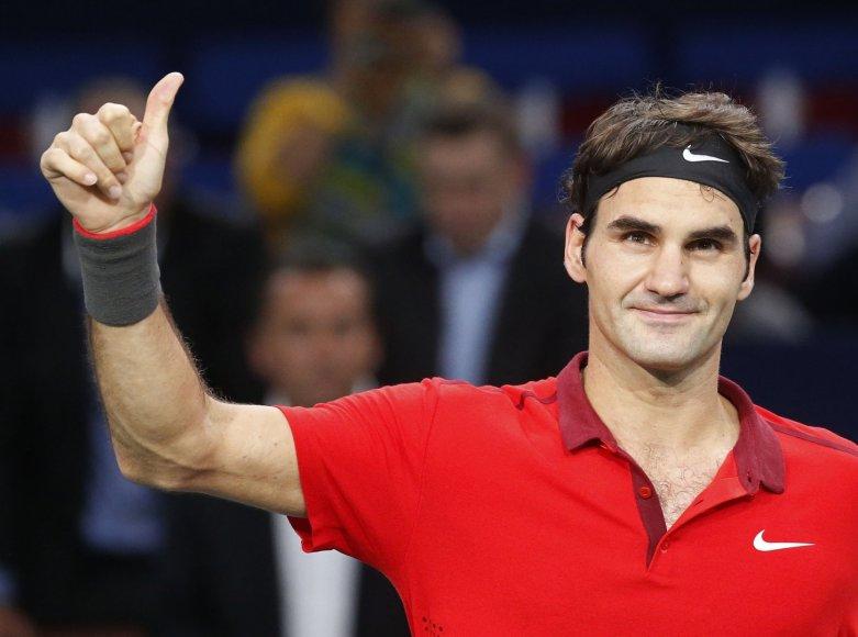 Rogeris Federeris prisijungė prie Šveicarijos teniso rinktinės