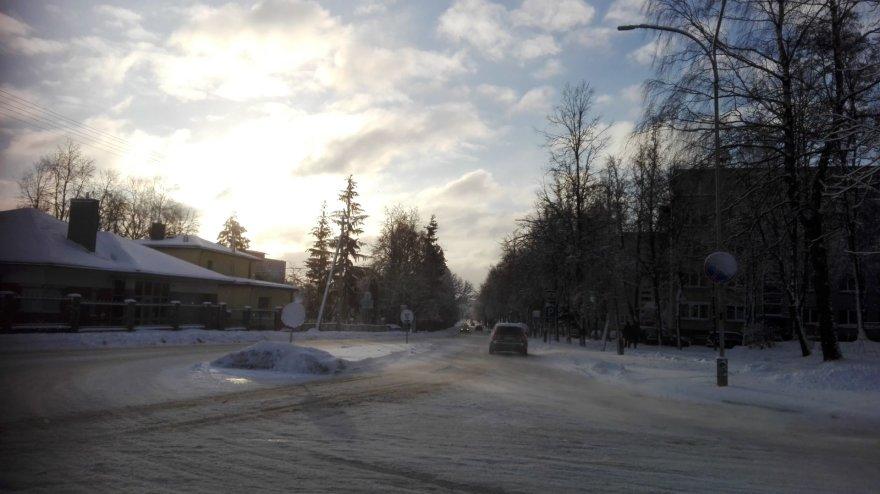 Tvirtovės gatvė sankryža su Skardžio gatve