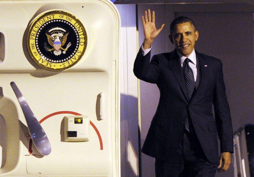 JAV prezidentas Barackas Obama Briuselyje