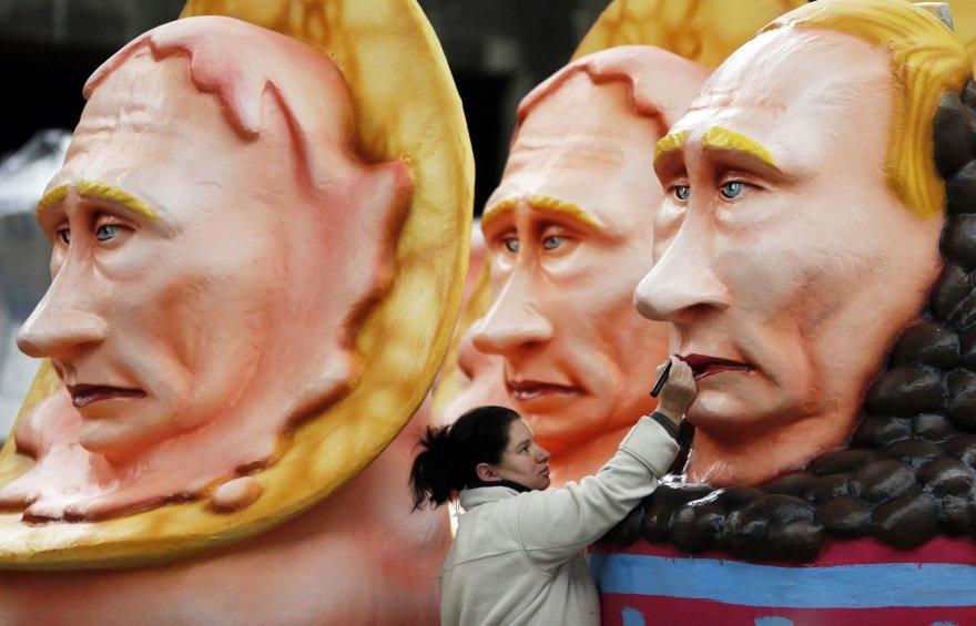 Vladimiro Putino skultpūros