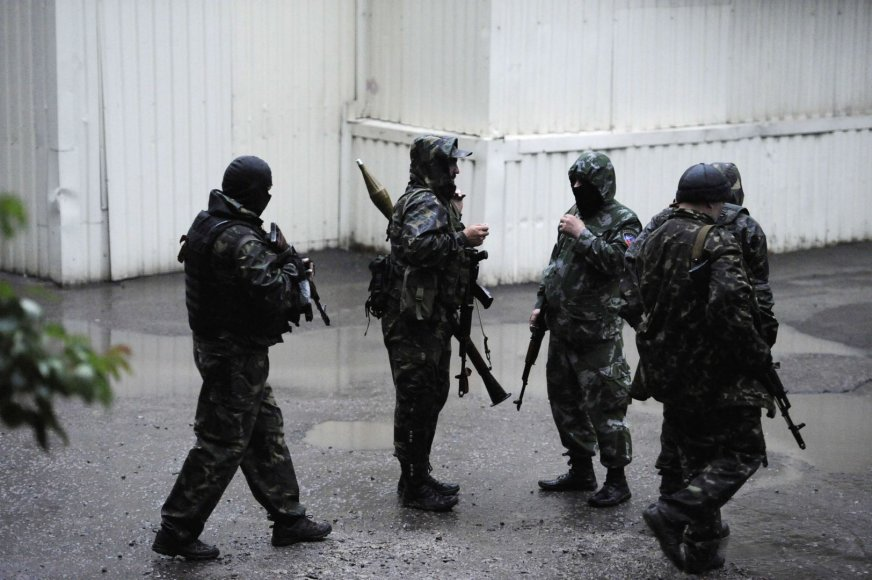 Teroristai Donecke