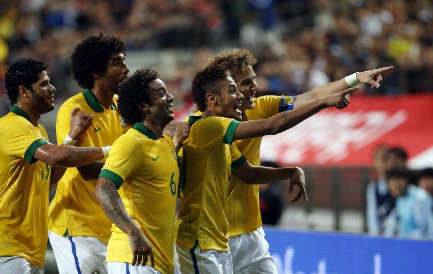 Brazilijos futbolininkai