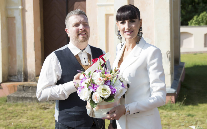Deivydas Zvonkus ir Katažina Zvonkuvienė