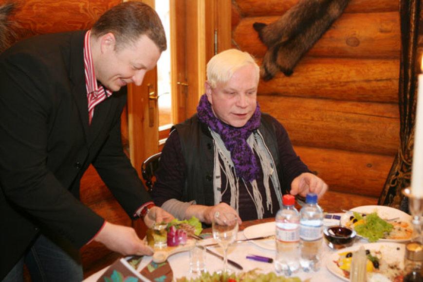 Gediminas Juodeika ir Borisas Moisejevas