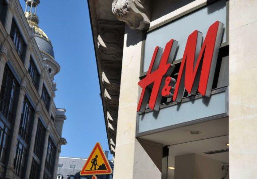 H&M drabužių tinklas