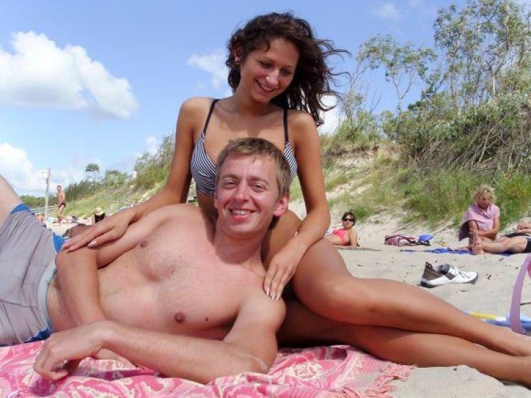 Bikini porelė Kristina ir Kęstutis