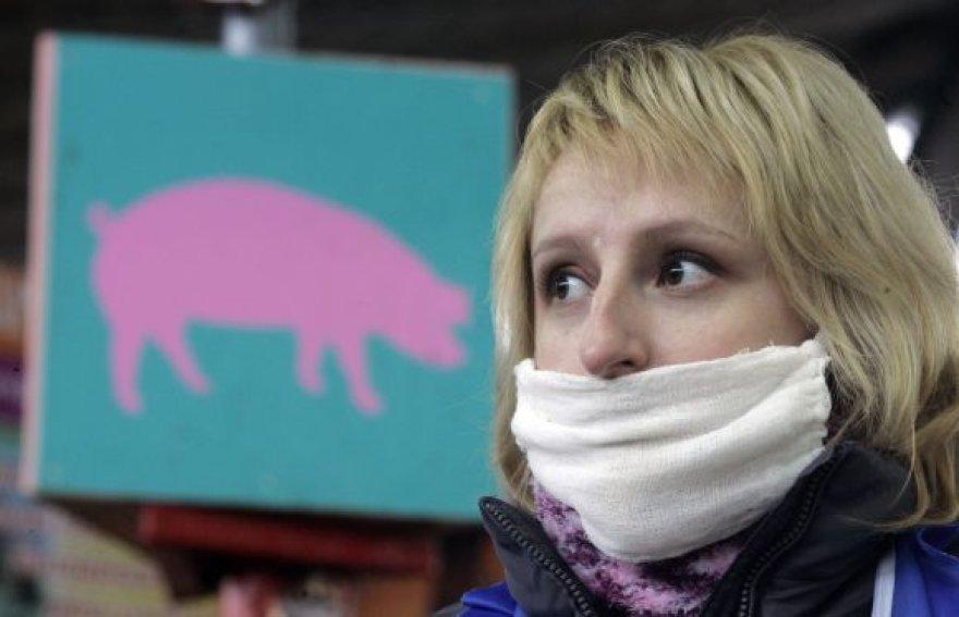 Bijote kiaulių gripo?