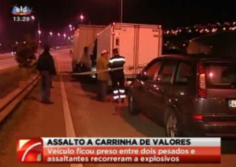 Apiplėšimas Portugalijoje