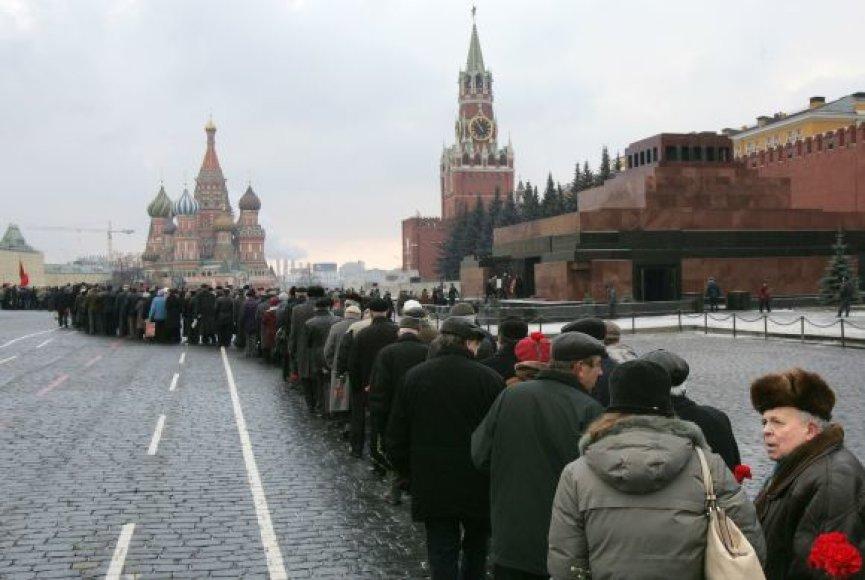 Lenino mauzoliejus Maskvoje