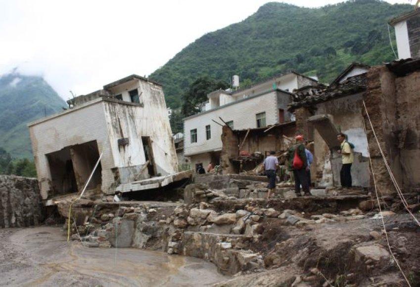Potvynis Kinijoje