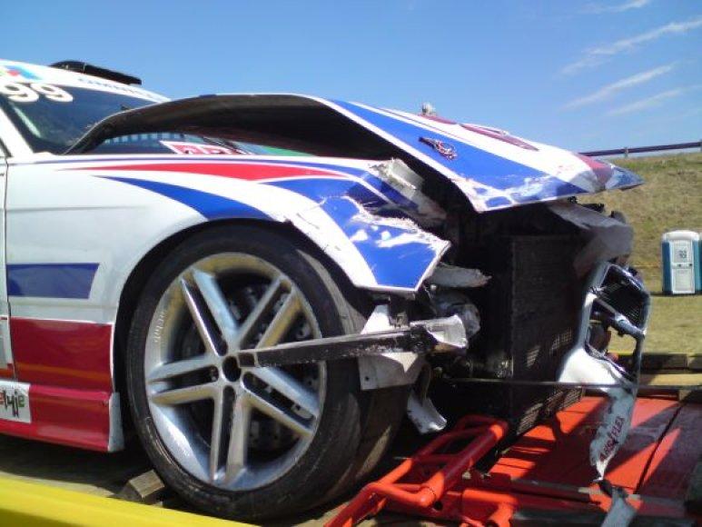 BMW Nr.99 po avarijos