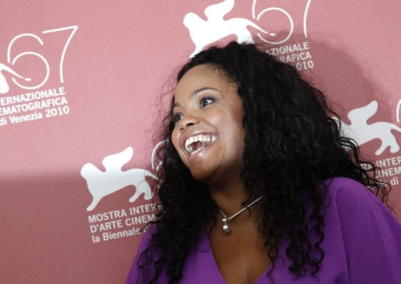 Aktorė Yahima Torres Venecijos kino festivalyje