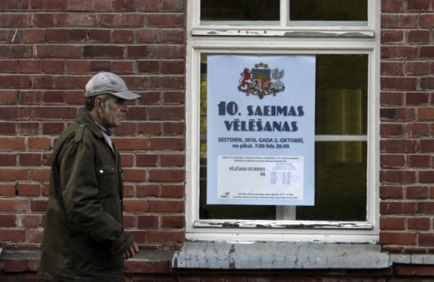 Seimo rinkimai Latvijoje