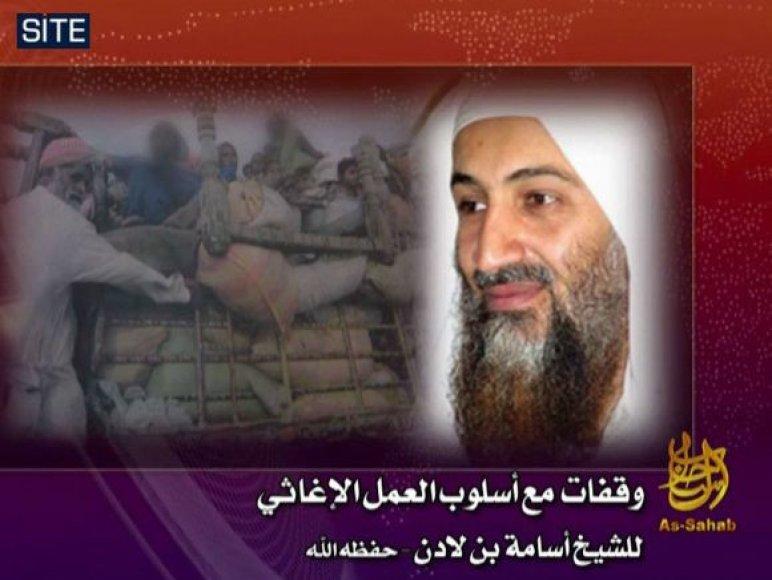 Osama bin Ladenas kreipėsi į musulmonus