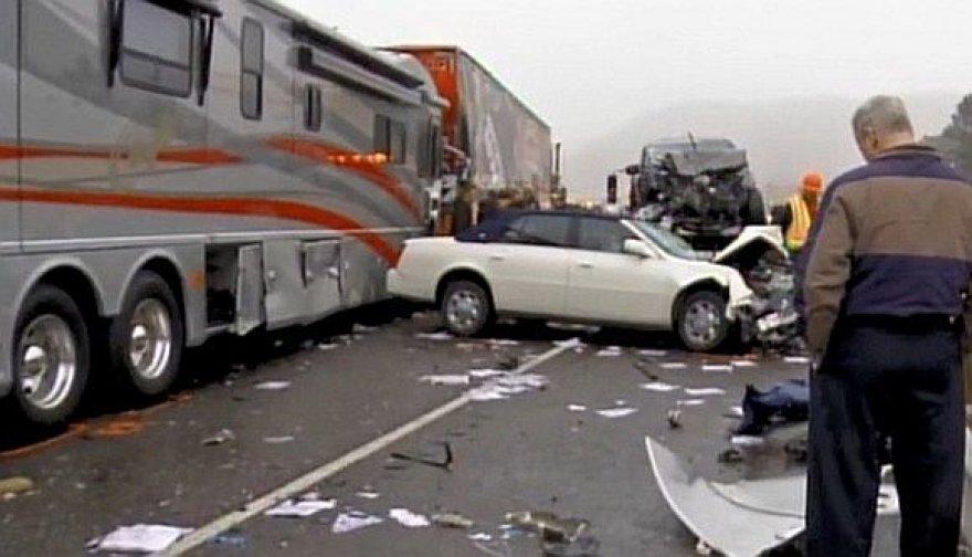 Masinė avarija Kolorado valstijoje