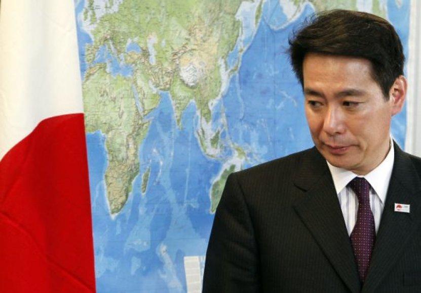 Japonijos ministras Seiji Maehara