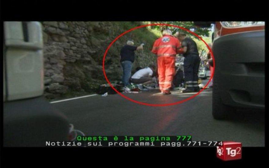 Žuvo dviratininkas Wouteras Weylandtas