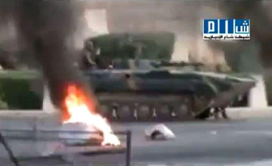 Mūšis Hamos mieste, Sirijoje