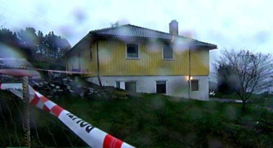 Norvegija, Sund komuna, namas, kuriame rasta mirusi lietuvaitė