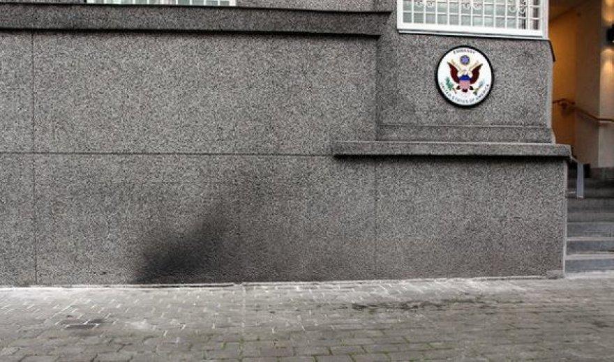 JAV ambasados pastatas po išpuolio