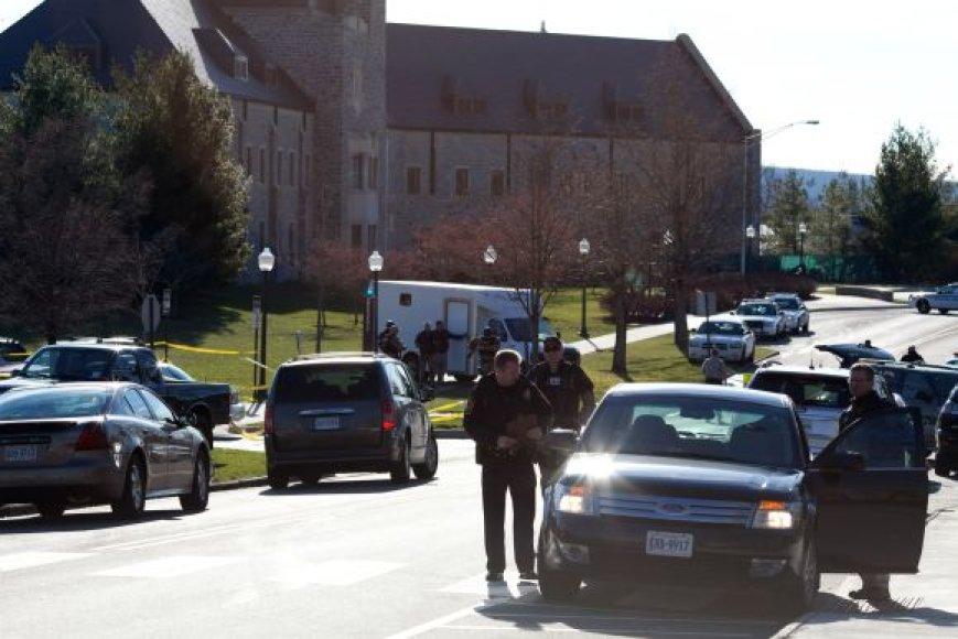 Per susišaudymą Virdžinijos universitete žuvo du žmonės