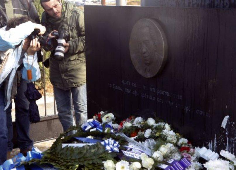 Tasso Papadopoulo, buvusio Kipro prezidento, kapas