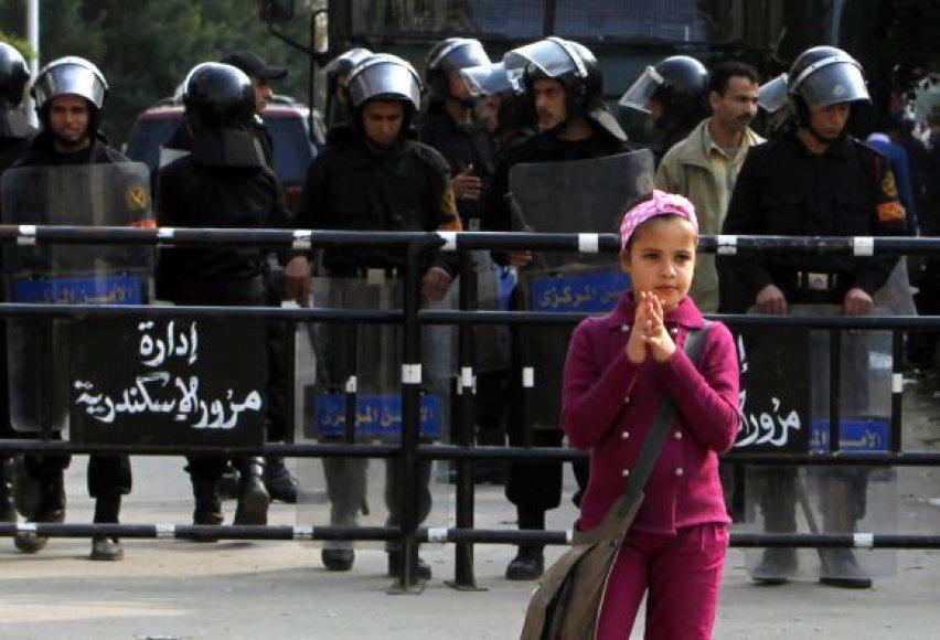 Saugumo pajėgos Aleksandrijoje, Egipte
