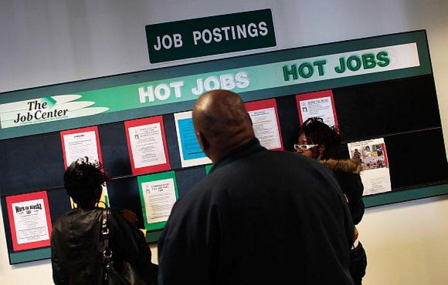 Praėjusį mėnesį darbo Jungtinėse Valstijose neturėjo daugiau nei 10 mln. žmonių
