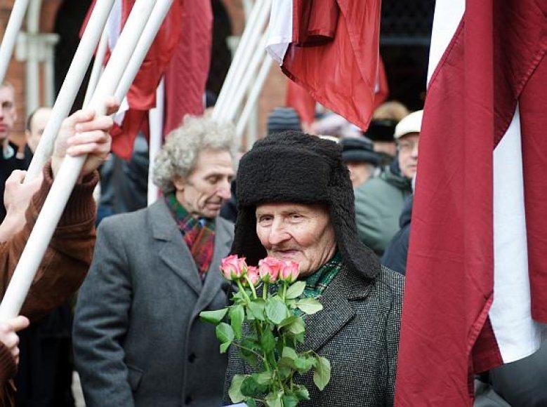Kaip ir kasmet kovo 16 dieną Latvijos SS legiono veteranai surengė eitynes.