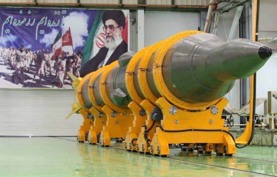 "Irano vidutinio nutolio raketa ""Sejil 2"""