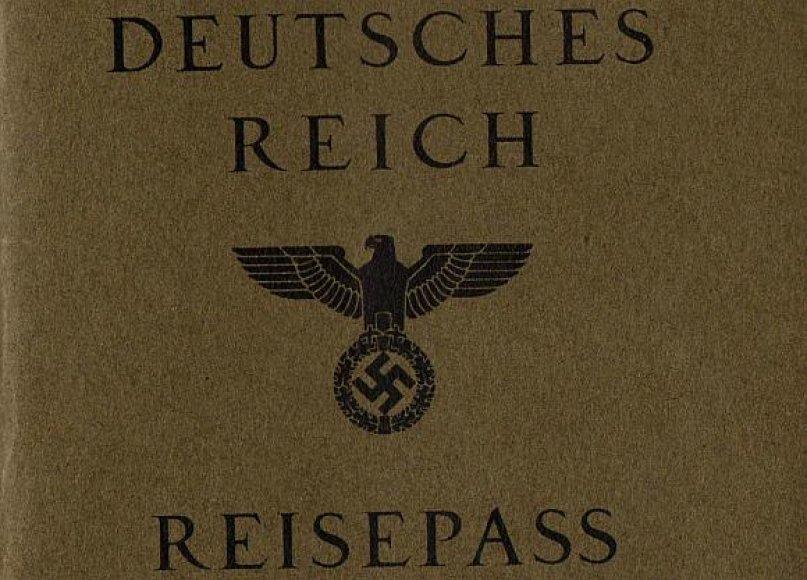 Nacistinės Vokietijos pasas