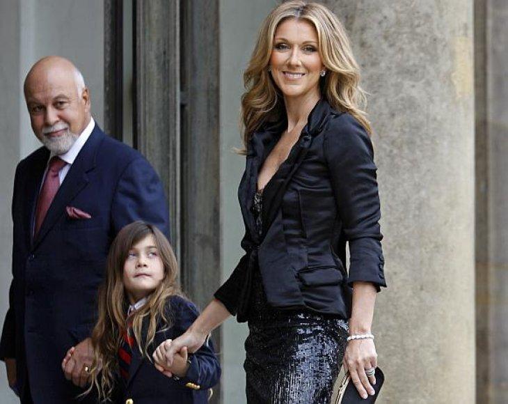 Celine Dion su šeima