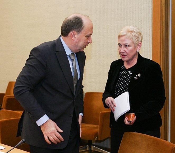 Andrius Kubilius ir Irena Degutienė