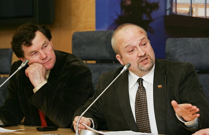 Kazimieras Uoka ir Gintaras Songaila