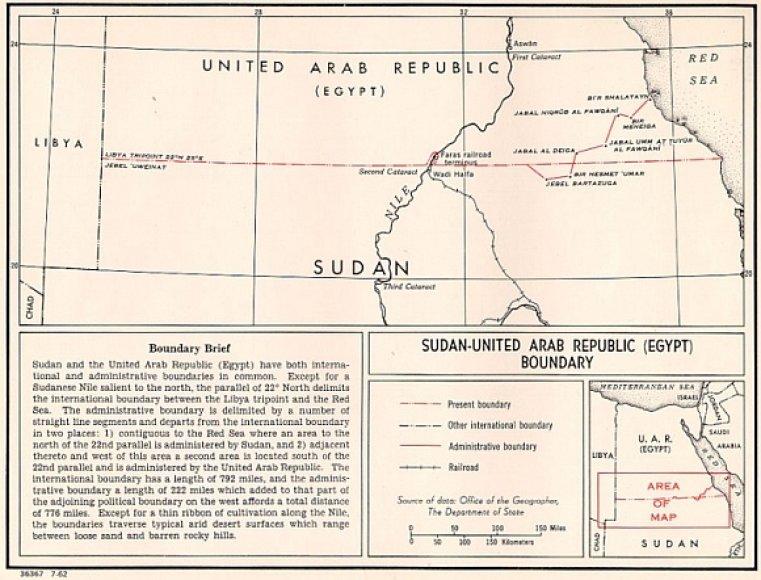 Siena tarp Sudano ir Egipto