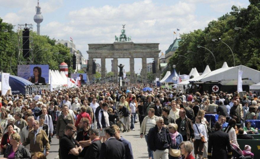 Brandenburgo vartai, Berlynas