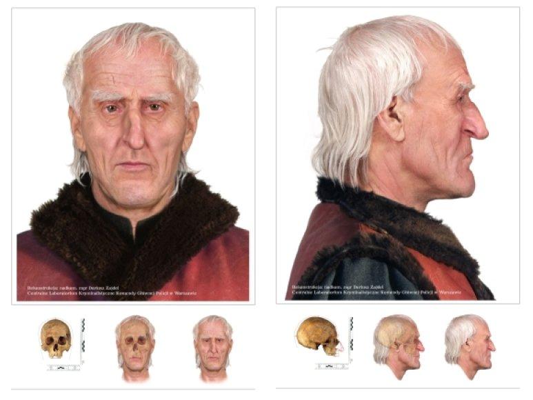 Mikalojaus Koperniko veido rekonstrukcija pagal rastą kaukolę