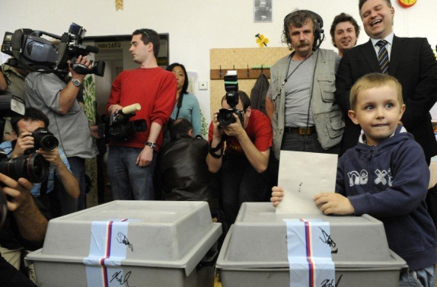 Rinkimai Čekijoje