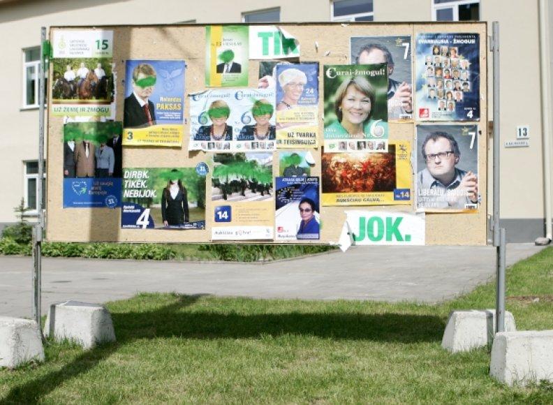 Partinė rinkimų agitacija