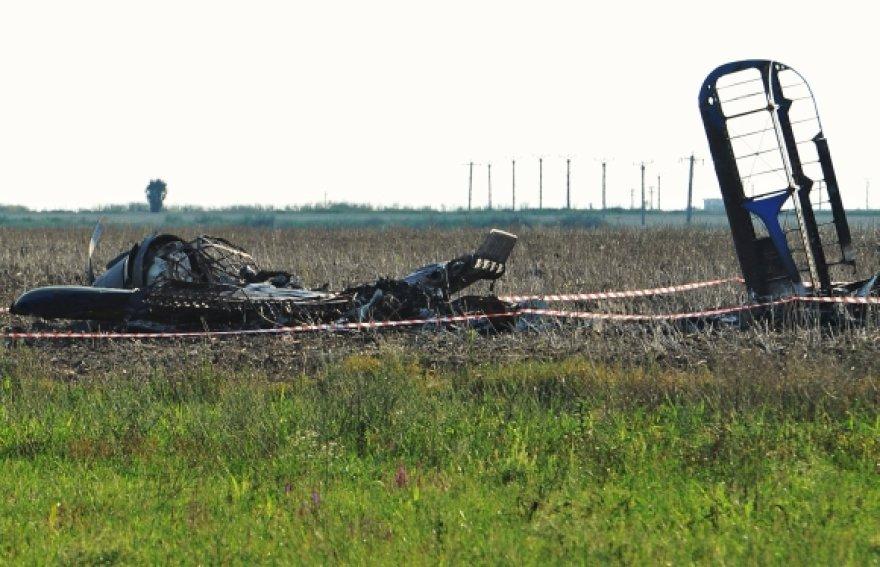 Sudužęs lėktuvas Rumunijoje