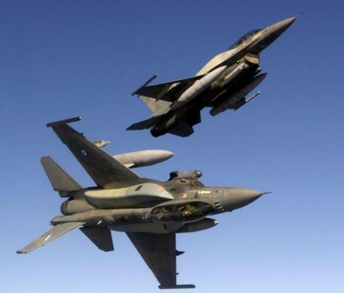 Graikijos KOP naikintuvai F-16