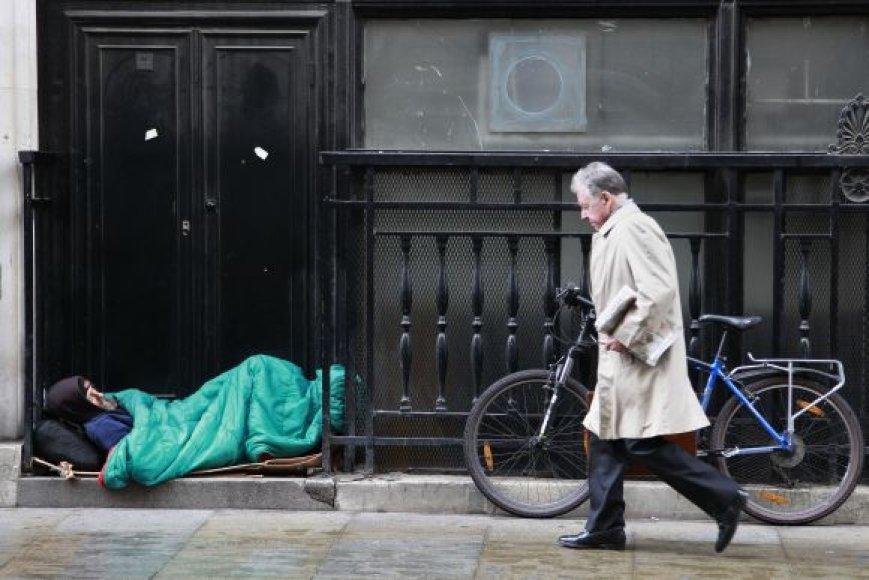 Benamis Londono gatvėje