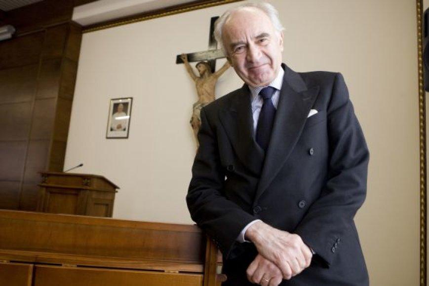 Vatikano banko prezidentas Ettore Gotti Tedeschi